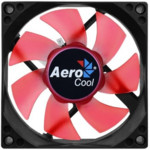 Охлаждение Aerocool Вентилятор Motion 8 Red-3P 80x80mm