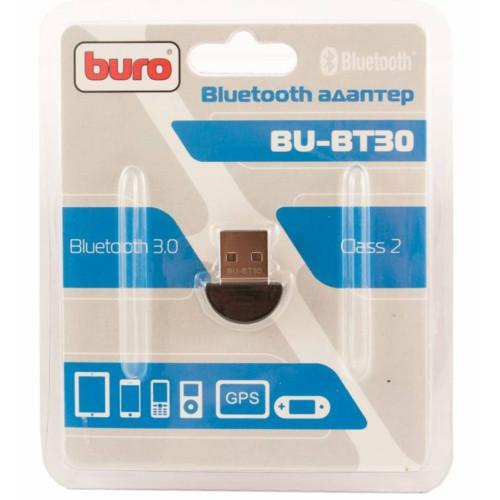 Адаптер USB BU-BT30 Bluetooth 3.0+EDR class 2 10м черный