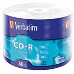 Оптический привод Verbatim Диск CD-R 700Mb 52x bulk (50шт)