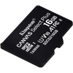 Флеш (Flash) карты Kingston Canvas Select Plus microSDHC 16 ГБ