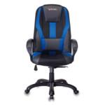 Компьютерная мебель Бюрократ Кресло игровое VIKING-9/BL+BLUE