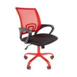Компьютерная мебель Chairman 696 CMet красное