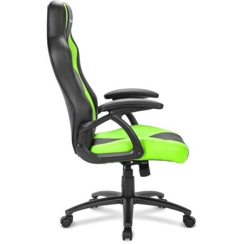Компьютерная мебель Sharkoon Shark Skiller SGS1 Black/Green (SKILLER-SGS1-BK/GN)