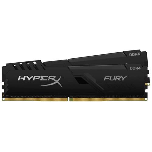 ОЗУ Kingston HyperX Fury Black 32GB 2400 MHz DDR4 CL15 DIMM (HX424C15FB4K2/32)