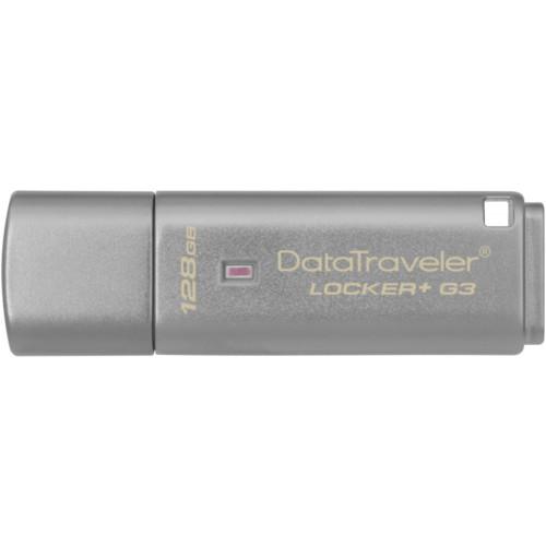 USB флешка (Flash) Kingston 128Gb DataTraveler Locker+ G3 (DTLPG3/128GB)