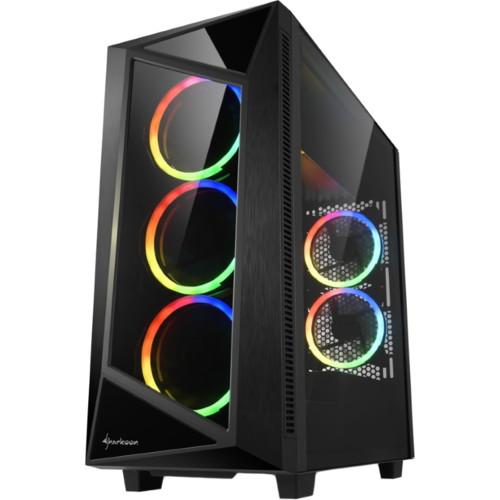Корпус Sharkoon REV200 RGB Black (REV200-RGB)