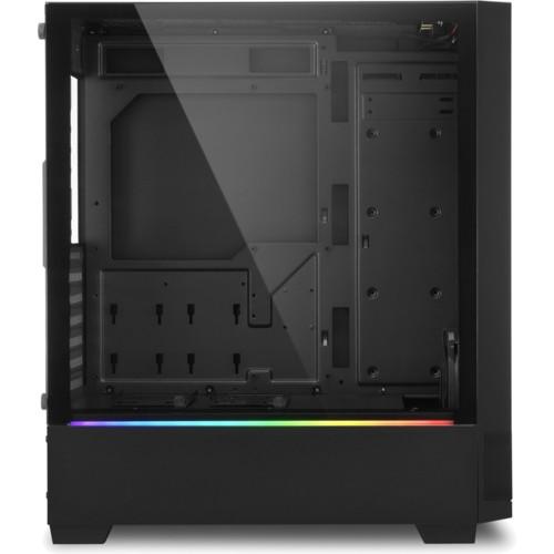 Корпус Sharkoon RGB FLOW Black (RGB-FLOW)