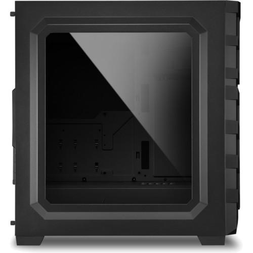 Корпус Sharkoon Shark SKILLER SGC1 Window black led (SGC1-WINDOW-BLACK)
