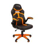Компьютерная мебель Chairman game 18 Black/Orange