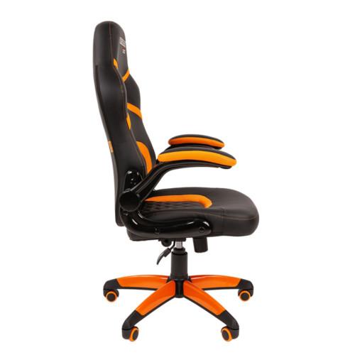 Компьютерная мебель Chairman game 18 Black/Orange (00-07051190)