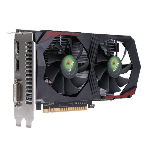 Видеокарта AFOX GeForce GTX 1050 Ti V3 (AF1050TI-4096D5H2-V3)