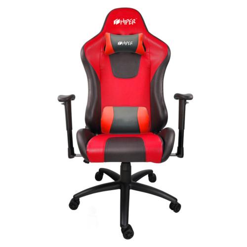 Компьютерная мебель HIPER Игровое кресло HGS-104 RED (HGS-104-BK/RED)