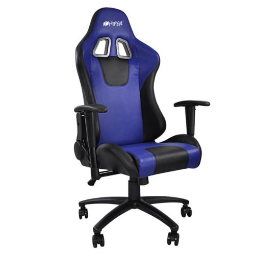 Компьютерная мебель HIPER Игровое кресло HGS-104 Blue (HGS-104-BK/BLUE)