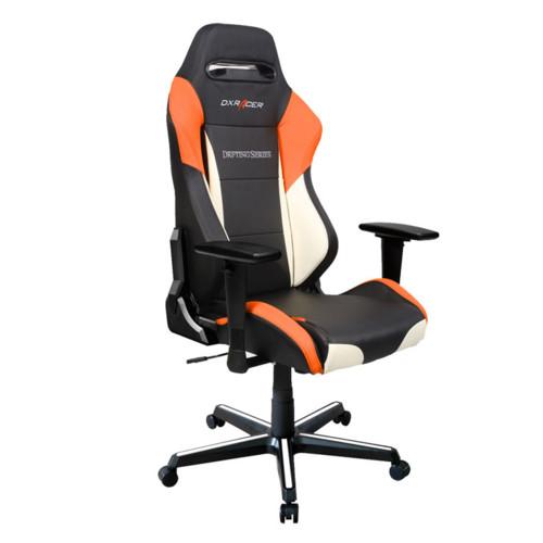 Компьютерная мебель DXRacer Игровое кресло Drifting Black-Orange-White (OH/DM61/NWO)