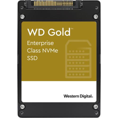 Внутренний жесткий диск Western Digital Gold Enterprise Class NVMe 7.68TB U.2 (WDS768T1D0D)