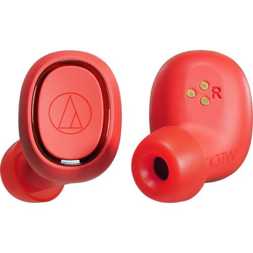 Наушники Audio-Technica ATH-CK3TW Red (80000916)