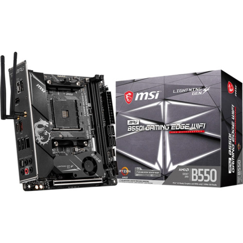 Материнская плата MSI MPG B550I GAMING EDGE WIFI (MPG B550I GAMING EDGE WIFI)