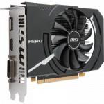 Видеокарта MSI RX 550 AERO ITX 2G 64b OC