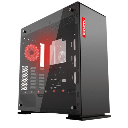 Корпус GameMax M909 Vega Black Temp Glas (M909)