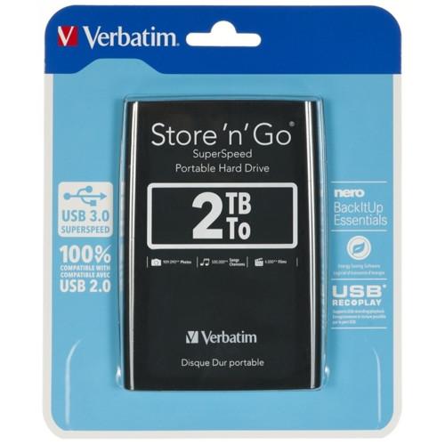 Внешний жесткий диск Verbatim 53177 (53177)