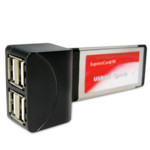 Аксессуар для ПК и Ноутбука Express Card USB HUB 4 Порта
