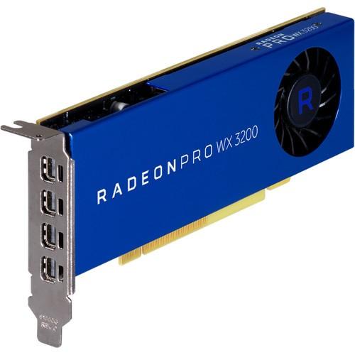 Видеокарта AMD Radeon Pro WX 3200 (100-506115)