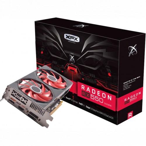 Видеокарта XFX Radeon RX 550 RX-550P4PFG5 (RX-550P4PFG5)