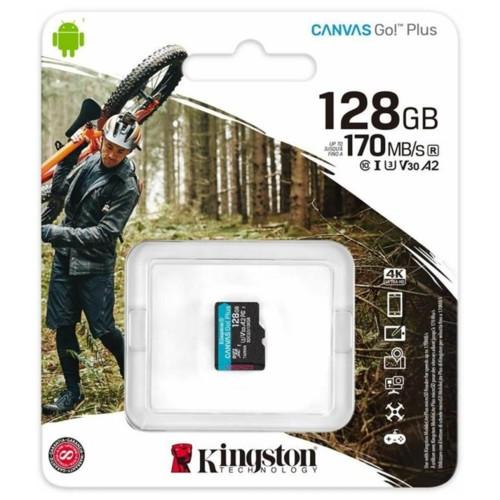 Флеш (Flash) карты Kingston Canvas Go Plus (SDCG3/128GBSP)