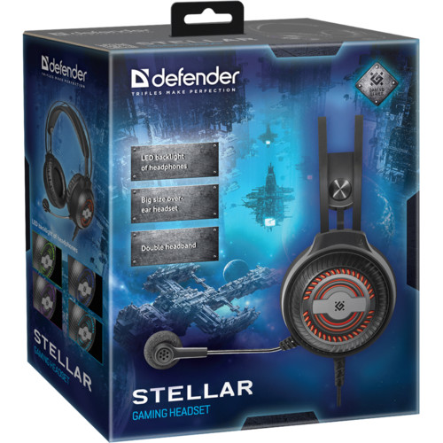 Гарнитура ASRock Defender Stellar (64520)