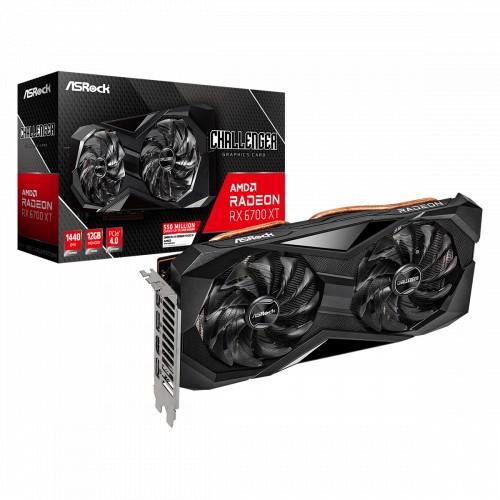 Видеокарта ASRock Radeon RX 6700 XT (RX6700XT CLD 12G)