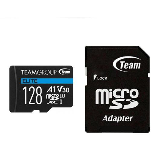 Флеш (Flash) карты Team Group Elite MicroSDHC/SDXC (TEAUSDX128GIV30A103)
