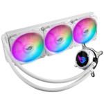Охлаждение Asus ROG STRIX LC 360 RGB WHITE EDITION Водяное охлаждение