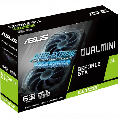 Видеокарта Asus DUAL-GTX1660S-6G-MINI (DUAL-GTX1660S-6G-MINI)