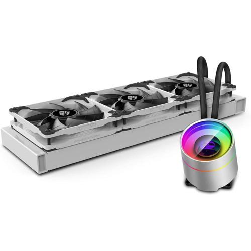 Охлаждение Deepcool CASTLE 360EX WH (37757)