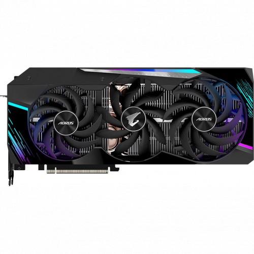 Видеокарта Gigabyte GeForce RTX 3080 AORUS MASTER 2.0 LHR 10G (GV-N3080AORUS M-10GD 2.0)