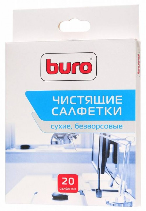 Аксессуар для ПК и Ноутбука Buro Салфетки Buro BU-Udry (BU-UDRY)