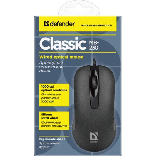 Мышь Defender Classic MB-230 (52231)