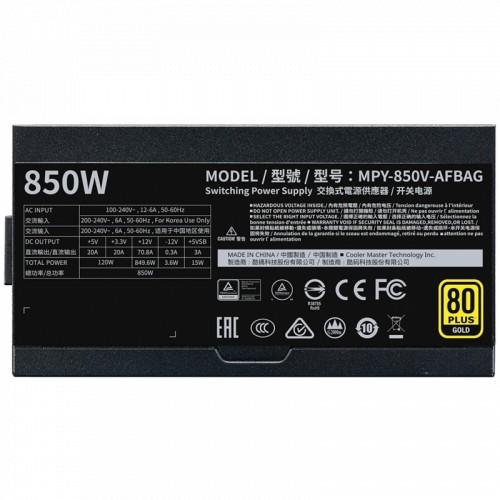 Блок питания Cooler Master V850 V2 Gold 850W (MPY-850V-AFBAG-EU)