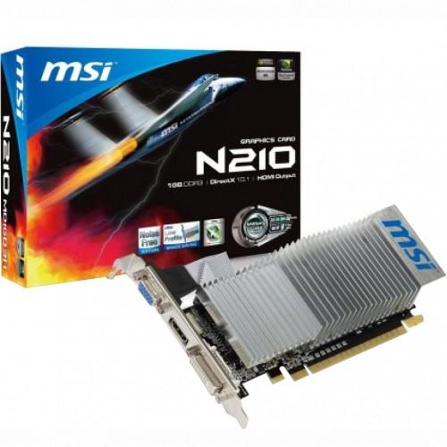 Видеокарта MSI N210-1GD3LP (N210-1GD3/LP)