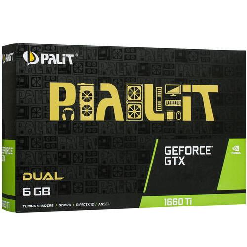 Видеокарта Palit NE6166T018J9-1160C (NE6166T018J9-1160C)