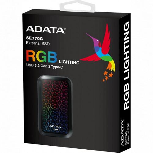 Внешний жесткий диск ADATA SE770G (ASE770G-512GU32G2-CBK)