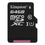 Flash карта Kingston 64GB Class 10 U1