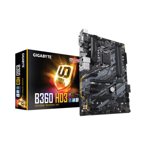 Материнская плата Gigabyte GA-B360 HD3 RTL (GA-B360 HD3)