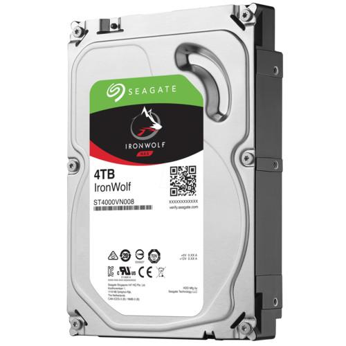 "Внутренний жесткий диск Seagate IronWolf NAS 4TB SATA 3.5"" 5900RPM 64Mb (ST4000VN008)"