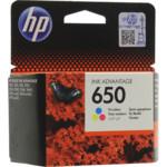 Лазерный картридж HP 650 Ink Advantage трехцветный
