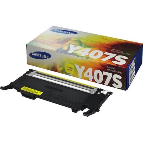 Картридж для плоттеров Samsung CLT-Y407S Yellow (SU476A)