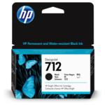 Картридж для плоттеров HP 712 38ml Black Ink