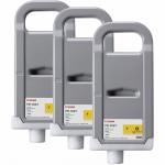 Струйный картридж HP PFI-703Y желтый тройная упаковка