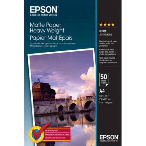 Бумага Epson Matte Paper-Heavyweight A4 (C13S041256)
