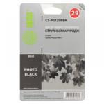 Струйный картридж Cactus CS-PGI29PBK фото черный